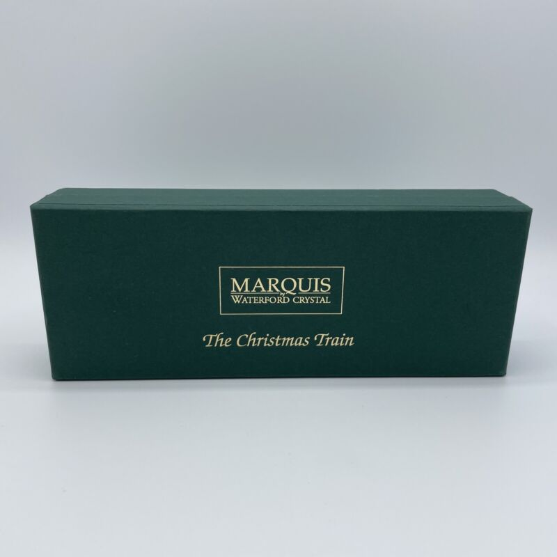 Marquis By Waterford, The Christmas Train, some chipping, see pictures