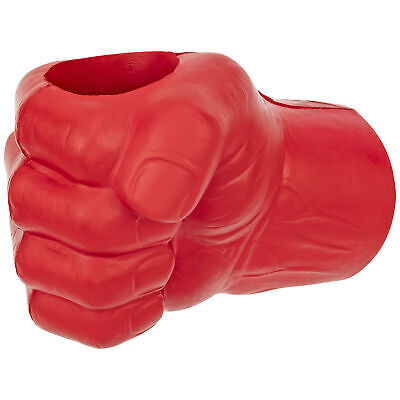 Red Foam Fist Hand Cooler, Right Hand – Giftable Beer Can Chiller Funny Novelty Action Figures