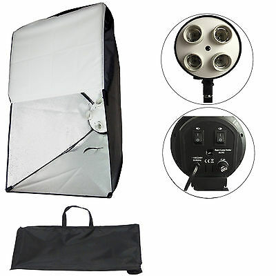 Supporto Illuminatore Luci Studio Foto Video 4in1 e Softbox integrato ES4 50x70