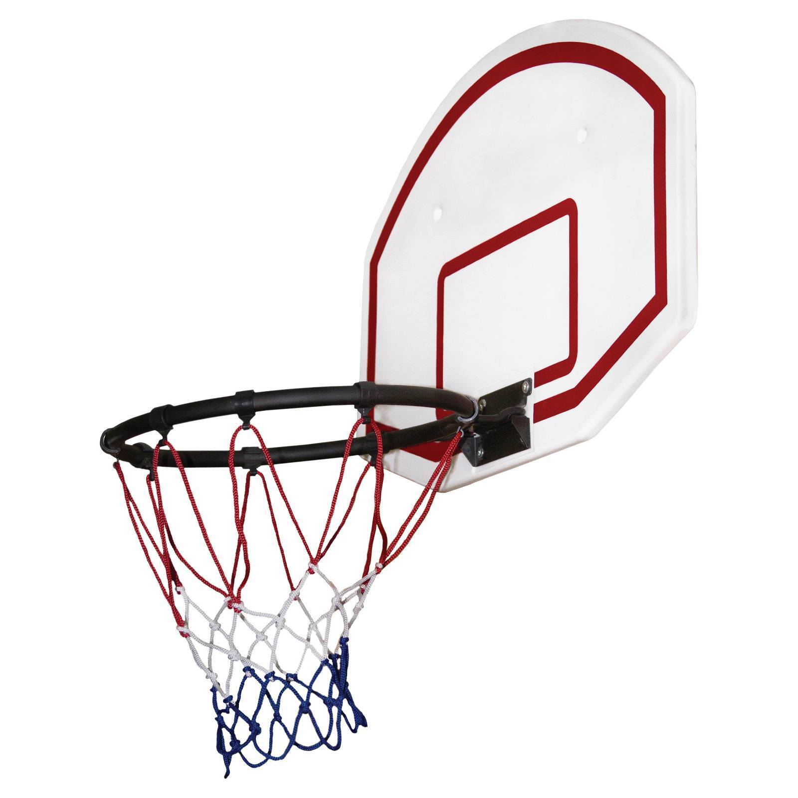 Gorilla Playsets Basketball Hoop Set 12in Rim Mounted Ball Air Pump ... 9a6b2f34bbc