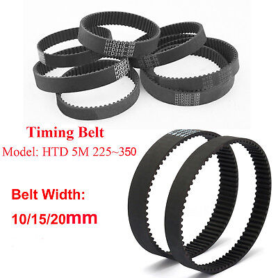 5mm Pitch Rubber Drive Belt 225350mm Length Htd 5m Timing Belt Arc Teeth