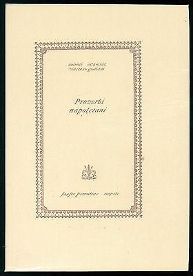 ALTAMURA ANTONIO GIULIANI VINCENZO PROVERBI NAPOLETANI FAUSTO FIORENTINO 1966