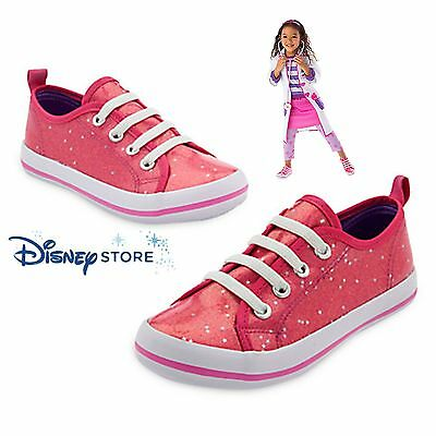 Disney Store NEW Doc McStuffins Sparkling Pink Sneakers Shoes for Girls SZ 2/3](Doc Mcstuffins Sneakers)