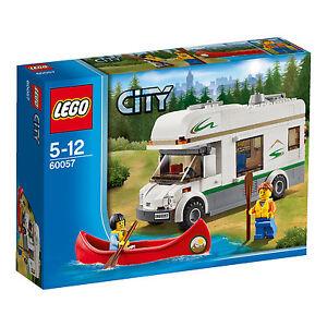 LEGO City Wohnmobil mit Kanu (60057) UNGEÖFFNET | NEU!!