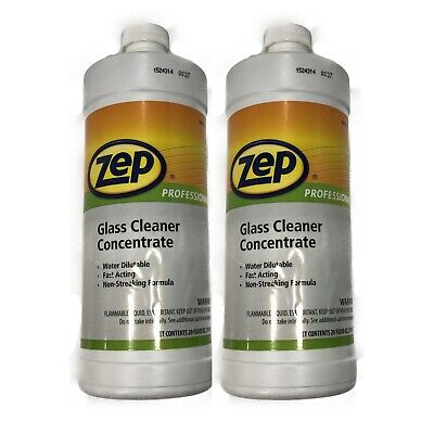 ZEP Professional R04501 Glass Cleaner Concentrate 20 Fluid ounce Bottle - 1 -