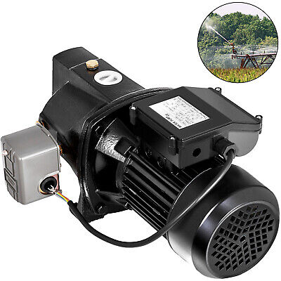 12 Hp Shallow Well Jet Pump W Pressure Switch 110v Heavy Duty Garden Water