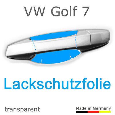 Schutzfolie Aufkleber Türgriff Griffmulde / Volkswagen - Golf 7 VII + Facelift