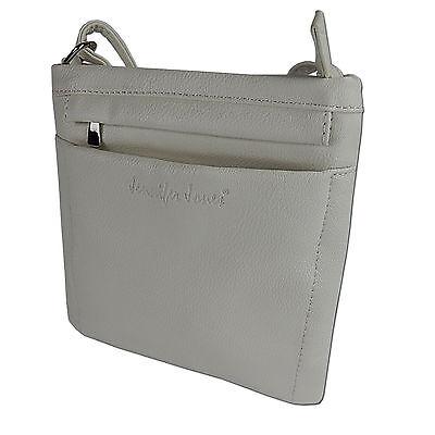 Damen Tasche Umhängetasche Kleine Schultertasche Beutel Freizeit-shopper Weiß 4