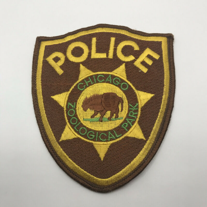 CHICAGO ZOOLOGICAL PARK POLICE DEPARTMENT PATCH: Series 1 - Brookfield Zoo