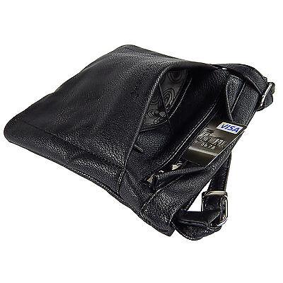 Damentasche Schultertasche Umhängetasche Beutel Freizeit-shopper 3966 Schwarz 2