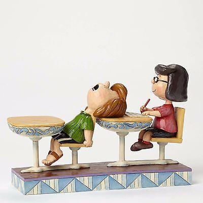 School Days - Peanuts Figurine By Jim Shore - 4049416 - NIB!!