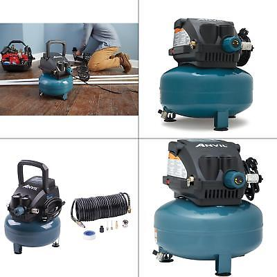 Portable Electric 2G Pancake Air Compressor with 7-Pieces Accessories Kit for sale  USA