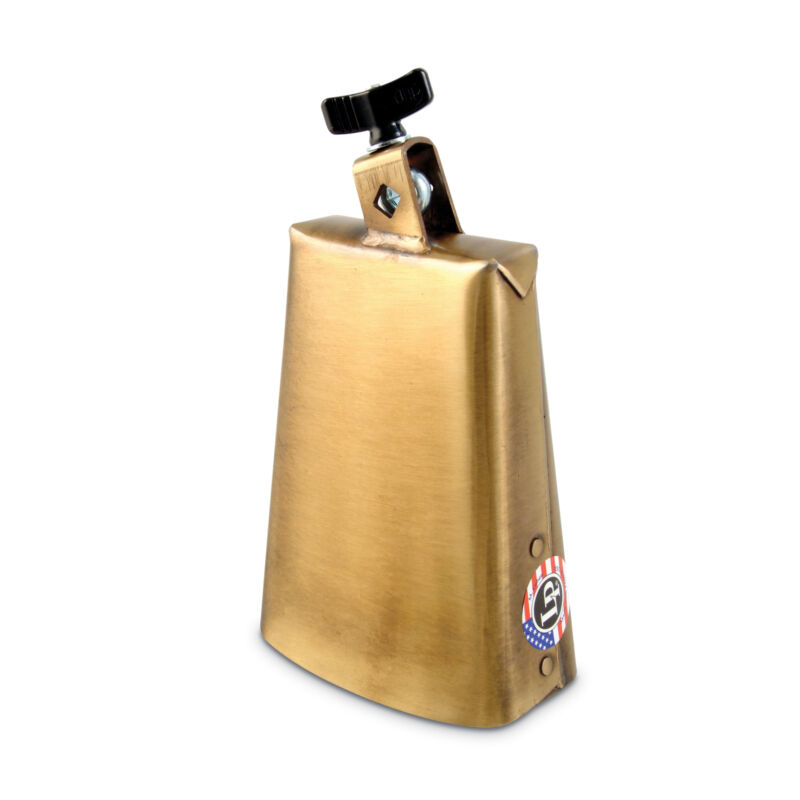 Latin Percussion LP Tito Puente Prestige Cowbell 7.5 Inch, Antique Brass