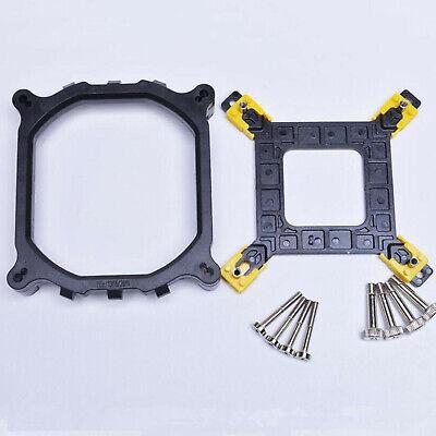 CPU Heatsink Mounting Bracket Holder Base Backplate Kit For Intel 115X/1366/2011