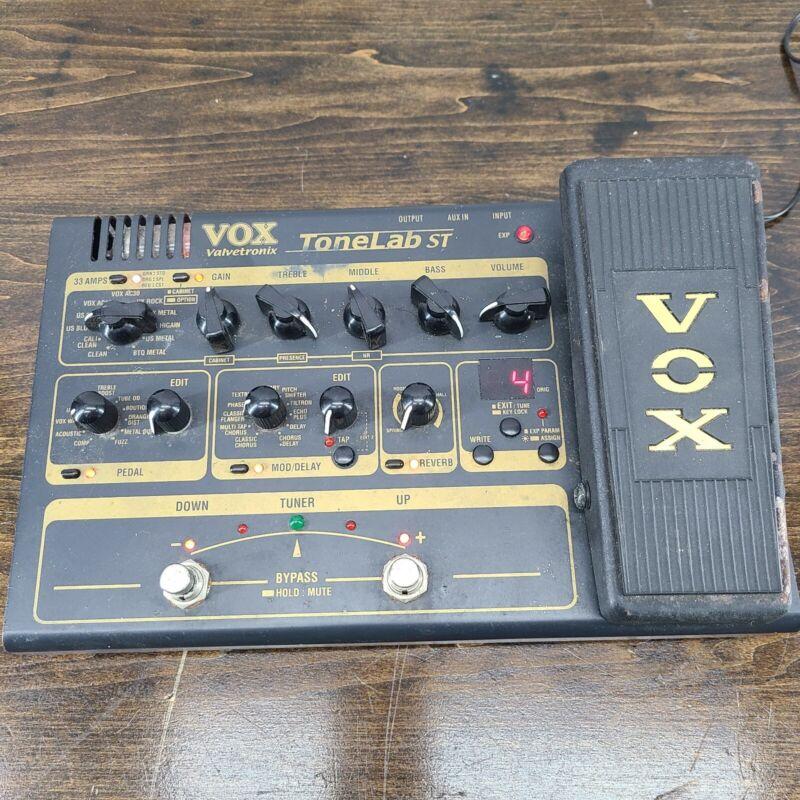 VOX Tonelab ST Multi-Effects Guitar Effect Pedal READ DESCRIPTION
