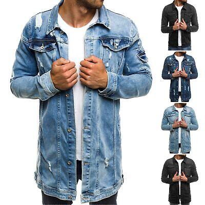 Jeansjacke Denim Vintage Übergangsjacke Jeans Herren OZONEE 4483 MIX