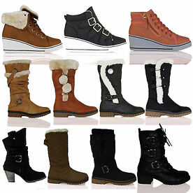 Range of Womens Autumn/Winter Footwear