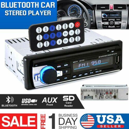 Bluetooth Car Stereo Audio Radio MP3 Player FM/SD/TF USB AUX
