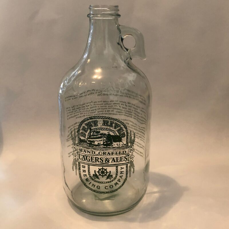 Bent River Brewing Company Growler 64 ounce Glass