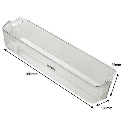 IGNIS Fridge Freezer Lower Door Bottle Shelf W440mm C00324007 481010372115