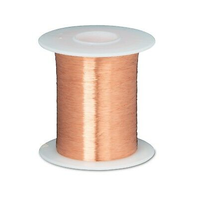 43 Awg Gauge Enameled Copper Magnet Wire 8 Oz 33046 Length 0.0024 155c Natural