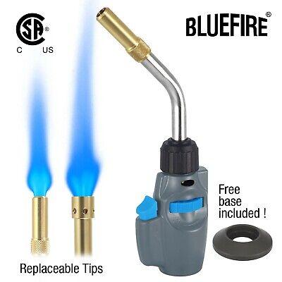 Bluefire Trigger Start Propane Mapp Map Gas Welding Torch2tip Kitcylinder Base