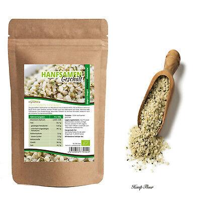 Mynatura Bio Hanfsamen geschält , 1kg glutenfrei, cholesterinfrei Natur Hanf