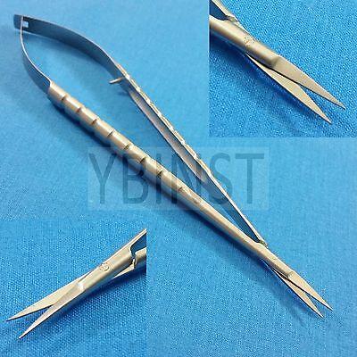 O.r Grade Castroviejo Micro Surgery Fine Point Sharp Small Blade Scissors 7
