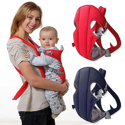Infant Baby Carrier Backpack Practical Mom Front Back Carrying Sling Seat Bag