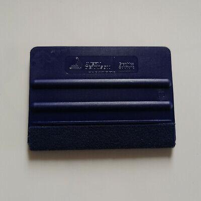 Avery Dennison Rakel Blau Mittelhart mit Filzkante Folierung Wrapping