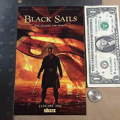 Black Sails Postcard War Against the World Starz 2016 NYCC