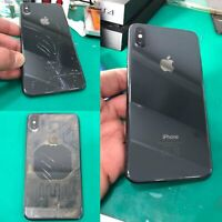 iPhone X XR XS Max 8Plus Backcover Rückglas Reparatur 1-2 Std