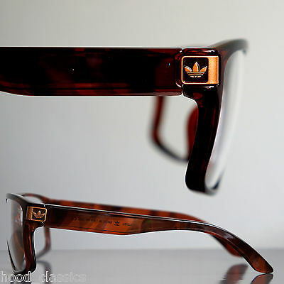 adidas Originals Eyewear Malibu Havana Clear Fashion Glasses Men's Sunglasses