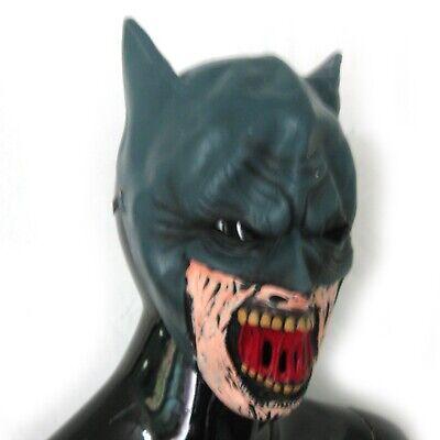 Zombie Batman Adult Halloween Costume Accessories Mask & Utility Belt