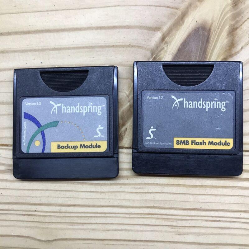 Handspring 8MB Flash Module Backup Visor Handheld Device Springboard Compatible