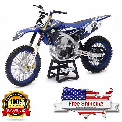 diecast model dirt bike yamaha Cooper Web YZ450F Replica New Ray Toys 1:12 scale