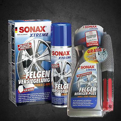 Sonax Xtreme Limpiador Ruedas Plus con Cepillo + Sellado de Llanta 230941/236100