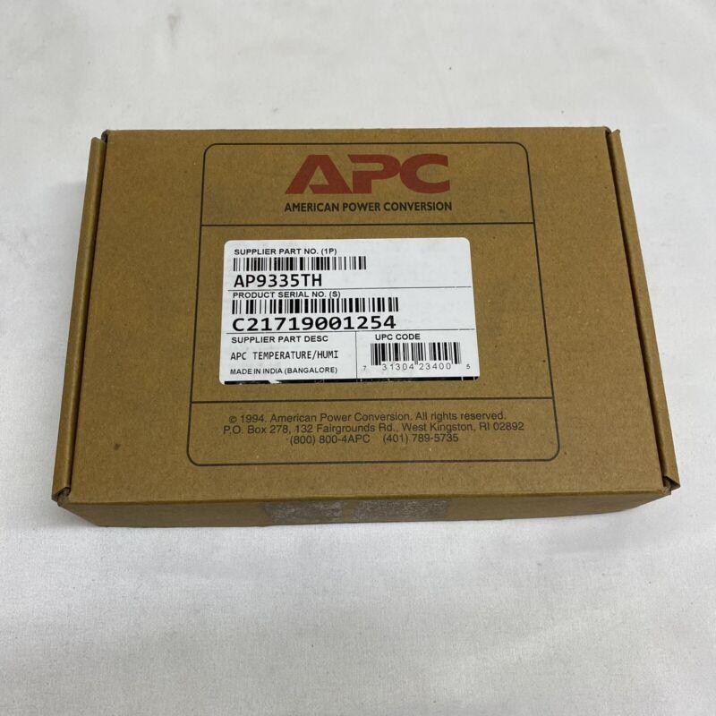 NEW APC by Schneider Electric AP9335TH Temperature Humidity Sensor - Quantity