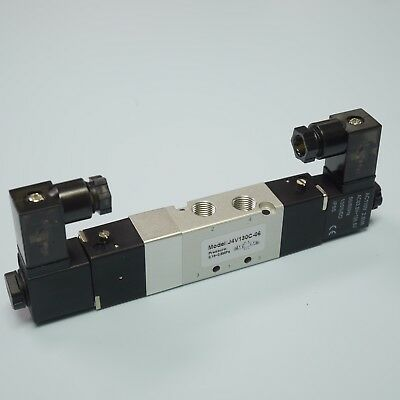 18 Pneumatic 53 Way Electric Solenoid Valve Ac110v 4v130c-06 Double Coil