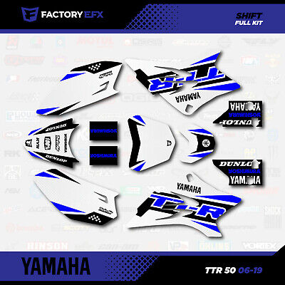 Blue Shift Racing Graphics fit 2006-2019 YAMAHA TTR50 decal Sticker TTR 50 06-19