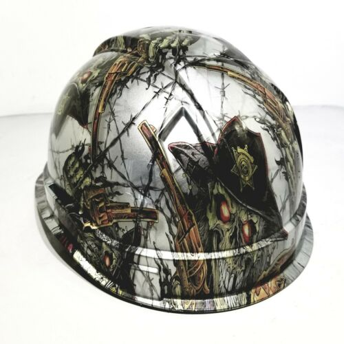 Hard Hat custom hydro dipped , OSHA approved DIRTY DIRTY HARRY OLD WEST NEW 4