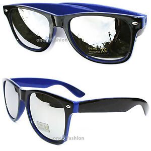 Blue Mirror Sunglasses Ebay