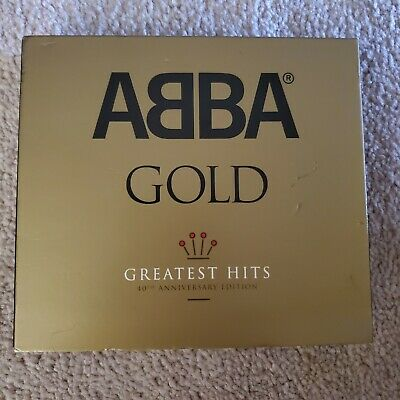 ABBA GOLD:  40TH ANNIVERSARY - GREATEST HITS - 3 CDS - Very Good