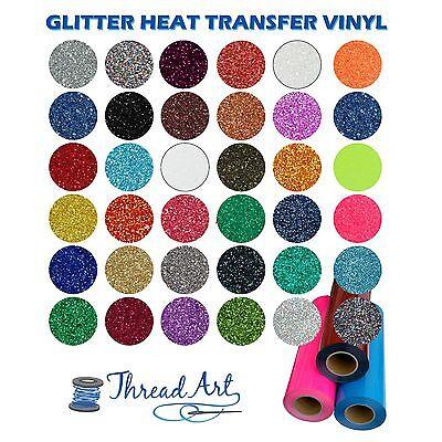 GLITTER HEAT TRANSFER VINYL HTV BY THE YARD 36