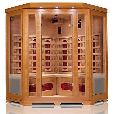 Infrarot Wärmekabine Sauna Infrarotkabine Infrarotsauna 4 Personen NEU