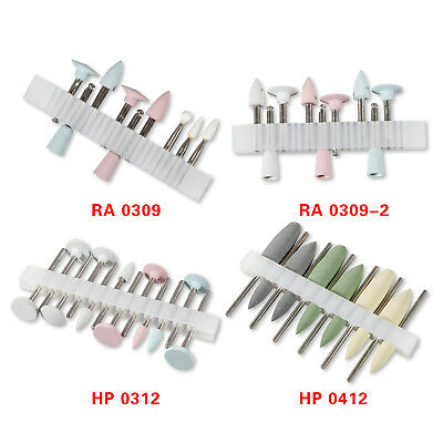 Dental Composite Polishing Kits Ra Hp 2.35m Low-speed Burs Cups Silicone Wet