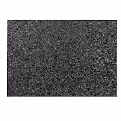 Talon Grips Material Sheet  5 X 7 Inch  Black Rubber Texture 998R