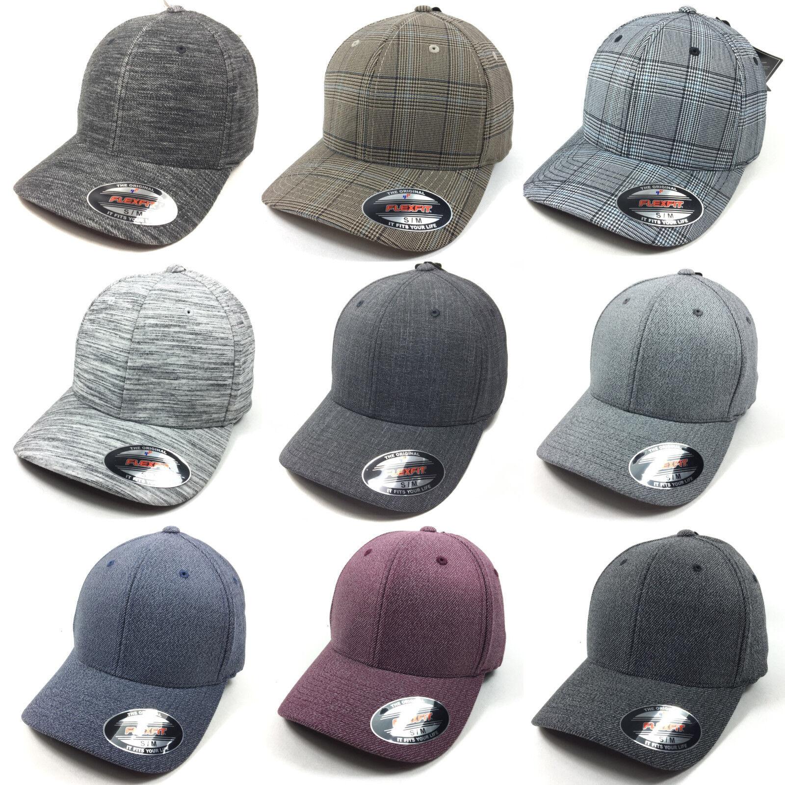 FLEXFIT  Baseball Cap  CAP BASECAP Baseball Caps Kappe melange NEU ORIGINAL