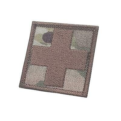 Red Cross Medic EMS 2x2 multicam OCP embroidered military paramedic EMT patch