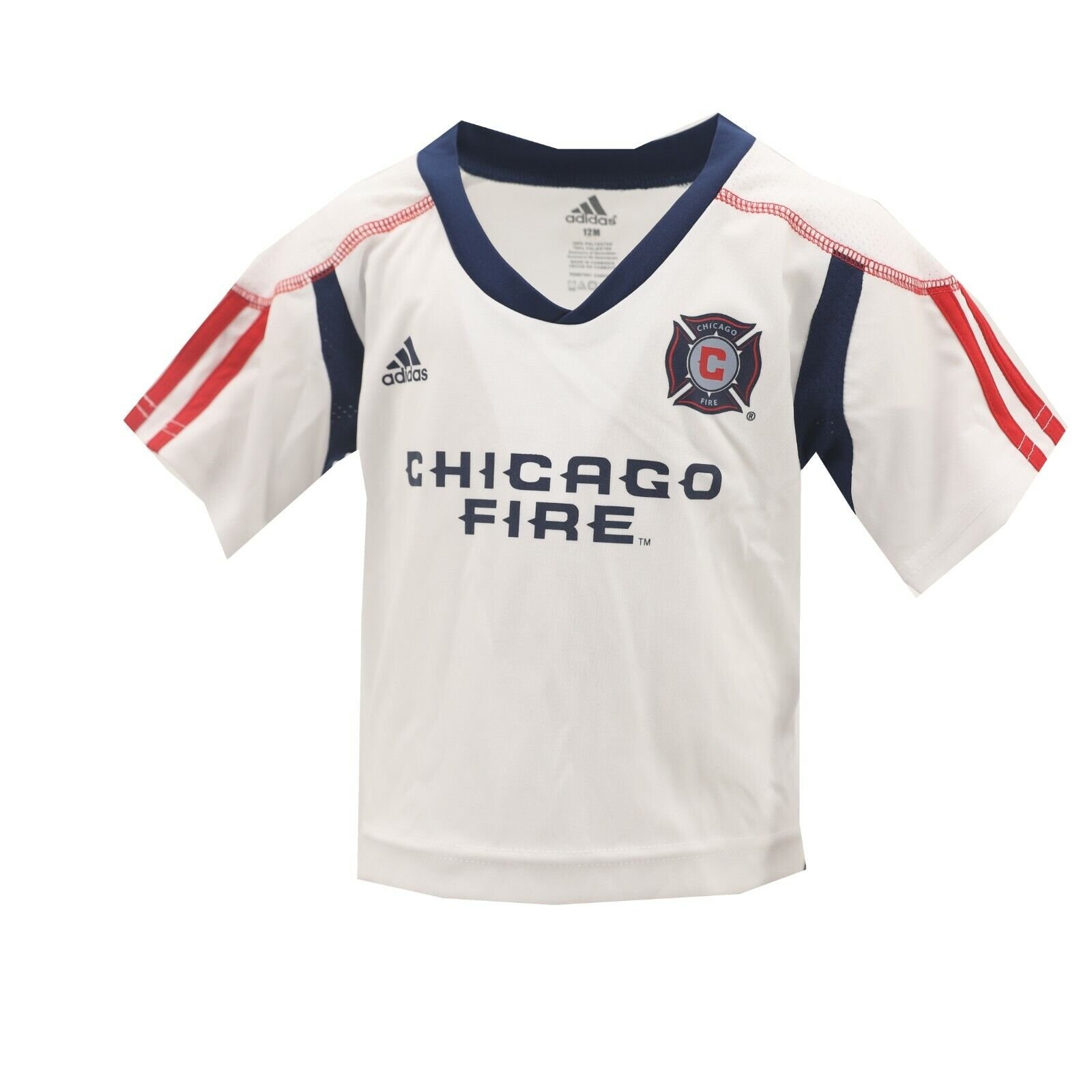 Chicago Fire MLS Adidas Baby Infant Size Jersey-Style Athletic T ...